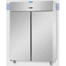 2 doors Low Temperature Stainless Steel 600x400 Refrigerated Pastry Cabinet , Tecnodom AF14EKOMBTPS