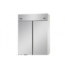 2 doors double temperature (NT + NT) Stainless Steel GN 2/1 Refrigerated Cabinet ,Tecnodom AF14EKOPP