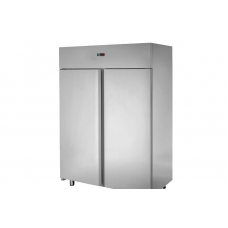 2 doors Low Temperature Stainless Steel 600x400 Refrigerated Pastry Cabinet ,Tecnodom AF14ISOMBTPS