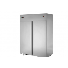 2 doors double temperature (NT + LT) Stainless Steel GN 2/1 Refrigerated Cabinet,Tecnodom AF14ISOPN