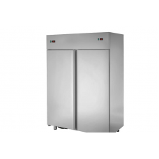 2 doors double temperature (LT + LT) Stainless Steel GN 2/1 Refrigerated Cabinet,Tecnodom AF14ISONN