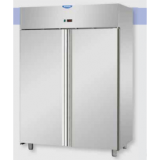2 doors Low Temperature Stainless Steel 600x400 Refrigerated Pastry Cabinet, Tecnodom AF14MIDMBTPS