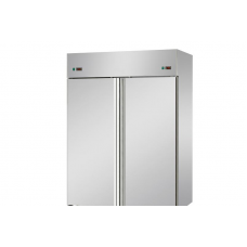 2 doors double temperature (LT + LT) Stainless Steel GN 2/1 Refrigerated Cabinet,Tecnodom AF14MIDNN
