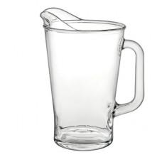 Glass jugs, Conic 1800, 6 units in package, 13137019, Borgonovo