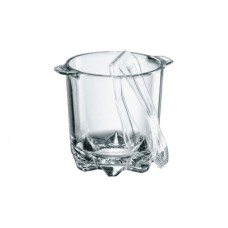 Ice bucket glass polka, 13216020, 6 peices in package, Borgonovo