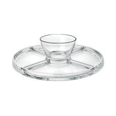 4 in 1 Glass dom plate Palladio, 13520548, Borgonovo