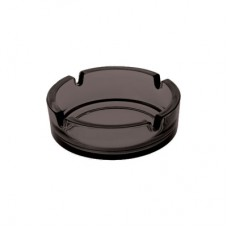 Ashtrays, Dresda 107 black, 24 pieces in package, 95019526B, Borgonovo