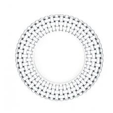 Set of 12 plates 23 cm, BOSSA NOVA, 91304, Nachtmann