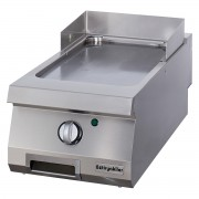 Half Module Smooth Electric Grill, steel, OGG 8070 N, series 700, Ozti, 7864.N1.40703.04