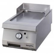 Half Module Smooth Gas Grill, Chromium Plated , OGG 4070, series 700, Ozti, 7864.N1.40703.06C