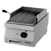 Full Module Ribbed Electric Grill, chrome plated, OGE 8070 N C, series 700, Ozti, 7864.N1.80703.11C