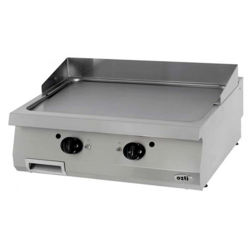 Full Module Smooth Gas Grill, Chromium Plated, OGG 8070, series 700, Ozti, 7864.N1.80703.19C