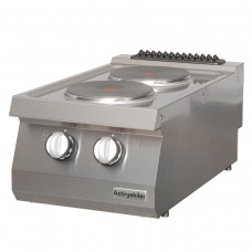 Electric Boiling top, with 2 burners, , OSOE 4070, series 700, Ozti, 7865.N1.40703.12
