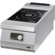 Half Module Smooth Gas Grill, steel, OGG 4070, series 700, Ozti, 7864.N1.40703.06