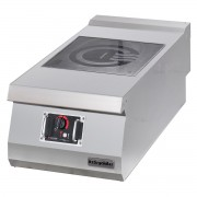 Full Module 2 Induction Heaters Electric Boiling Top, OSI 8070, series 700, Ozti, 7865.N1.80703.IS